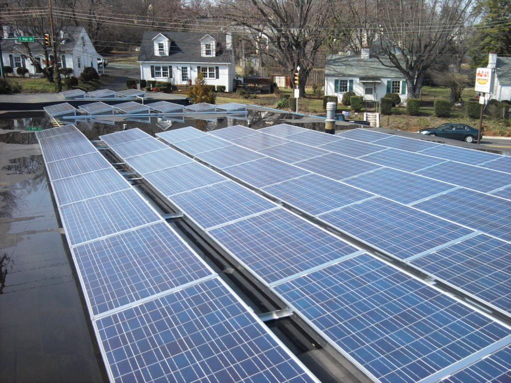 Commercial Ballasted Solar System