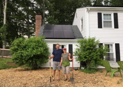 The Walker's Solar Improvements